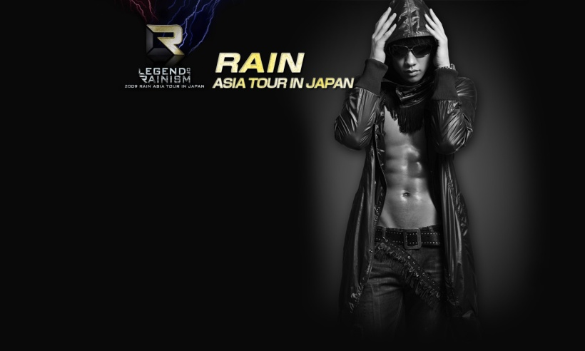 legend of rainism tour poster