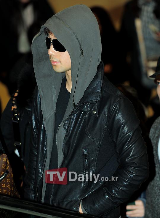 GO hoodie black leather