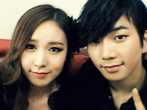 G.O and Kan Mi Yeon